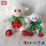 Jouet mou de peluche de 2015 gosses de mascotte de moutons de cadeau neuf de Noël