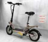 Складывая портативный свинцовокислотный электрический велосипед 36V с светом