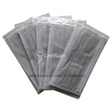 Einzelstück Package Gray und White Small Checked Pattern Face Mask