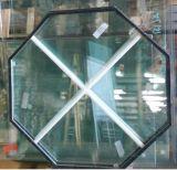 Finestra speciale del PVC di figura della conca