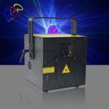 Luz laser laser multifuncional de 3W RGB para propaganda ao ar livre