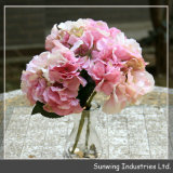 Цветок искусственного шелка Hydrangea высокого качества Sunwing цветастый