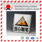 Pellicola di rivestimento riflettente del grado di ingegneria per i segni di traffico stradale che avvertono scheda (TM7600)