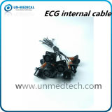 OEM / ODM 6 Pin ECG zócalo con cable