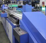 Enclosure를 가진 2개의 색깔 Cloth Labels Automatic Screen Printing Machine