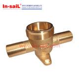Componentes de bronze de giro do CNC da precisão para o petróleo & a indústria do gás