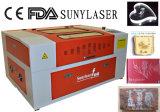 Graveur de laser de commande numérique par ordinateur garanti par qualité pour des non-métaux