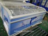 Congelador do supermercado