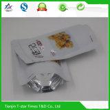 Aluminiumfolie-Fastfood- Reißverschluss-Tasche