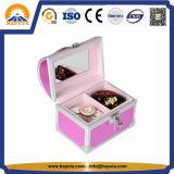 ミラー(HB-2045)が付いている美しいアルミニウム宝石箱