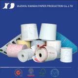 Alta calidad rodillo del papel de la posición de la caja registradora de 80m m x de 50m m para los puntos de venta