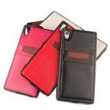 ソニーZ5/Z5のための新しい方法革携帯電話のカバーか箱と