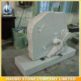 De Grafsteen van de Standbeelden van de Engel van het graniet