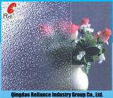 figura vidro de Nashiji do espaço livre de 3mm/3.5mm/4mm/4.5mm/5mm/5.5mm/6mm de teste padrão de vidro de vidro de /Nashijipatten /Clear/boa figura vidro de Quanlity