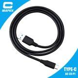 Taper le câble de boîte de vitesses de caractéristiques 9pin de C USB 3.0