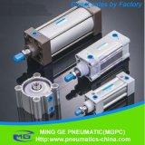 Cilinder van de Legering van het aluminium de Mini Pneumatische (MAL40*125)