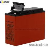 Batterie de télécommunication d'accès des terminaux d'avant de batterie de la fabrication 12V105ah de FT12-105 Chine