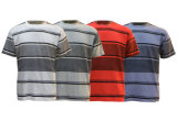 rayé sec de Quck de T-shirt de Polyster des hommes 2016fashion