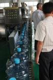 Fregado de las botellas de 5 galones/máquina de relleno/que capsula