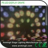 P6 LED Anblick-Vorhang-/LED-drapieren weiches Bildschirmanzeige-/LED-Video