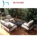 F il sofà esterno del giardino della mobilia di nuovo disegno ha impostato (CF649A+CF649b+CF649CT)