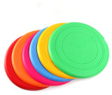 Venta al por mayor seis colores irrompible de silicona Pet Frisbee