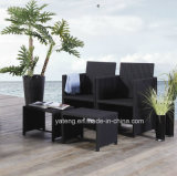 Save Space Outdoor Garden Furniture Pool Side Restaurante Móveis com cadeira e mesa por 4-10person (YT275)