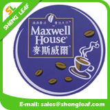 Householder Custom Square Soft PVC Rubber Coaster Product (SLF-RC012)