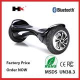 UL2272를 가진 2016년 Bluetooth 스피커 2 바퀴 Hoverboard 지능적인 스쿠터