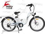 2016新しいデザインセリウム(JSL038XB-4)が付いている電気都市バイクを開く26インチ