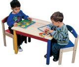 테이블과 의자 (SF-35C)가 아이들 가구에 의하여 농담을 한다