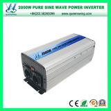 Инверторы автомобиля синуса DC72V 2000W чисто с цифровой индикацией (QW-P2000)