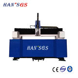 máquina de alta velocidade do cortador do laser do CNC da fibra 500W para o metal