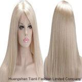 Pelucas llenas del cordón de las pelucas rubias rectas del color 613#