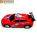 A mini catapulta plástica super de venda quente do carro de competência brinca o carro de trilho da injeção