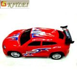 Vendedores calientes Mini Súper coche de competición de plástico Juguetes catapulta inyección de vagón