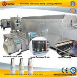 Автоматическая бутылка молока стеклянная рециркулирует чистую машину
