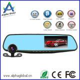 Prix usine appareil-photo arrière 720p de tableau de bord d'enregistreur de véhicule de miroir d'affichage à cristaux liquides de 4.3 pouces