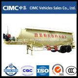 Axle Cimc 3 трейлер бака цемента большого части 50 тонн