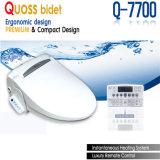 Bidet astuto della Corea della sede di Bidet della toletta con telecomando (Q-7700)