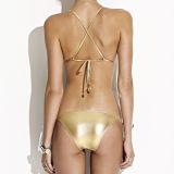 Open Hot Sexy Girl Photo Bandeau Bikini Swimwear
