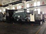 jogo de gerador Diesel de Mitsubishi da potência 2500kVA à espera