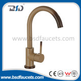 Single Handle Copper Fábrica da China Fábrica Torneira de pia de cozinha marrom