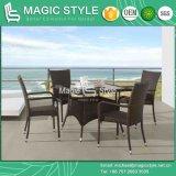 Silla de jardín caliente de vector de cena de la silla de mimbre de la venta de la silla promocional (estilo mágico)