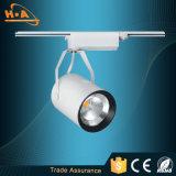 Luz ajustável da trilha da ESPIGA do diodo emissor de luz do ângulo comercial de China