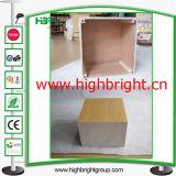 Loja de moda em madeira Cube Display Pedestal