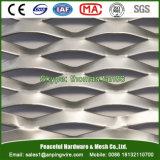 Malha de alumínio para cortina / chapa expandida de decoração