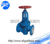 Teflon Valve et Handle Wheel PTFE Lined Wafer Butterfly Valve Ball Valve Pipe Fittings