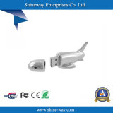 Disco de destello del USB del aeroplano del metal para USB de la novela (E064)