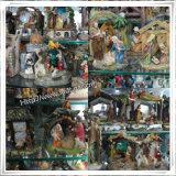 Standbeelden Van uitstekende kwaliteit van de Familie van de Geboorte van Christus van de Hars van de Douane van de fabriek de Poly Godsdienstige, Standbeelden van de Geboorte van Christus van de Hars de Vastgestelde Katholieke Godsdienstige (IO-ca_samples)